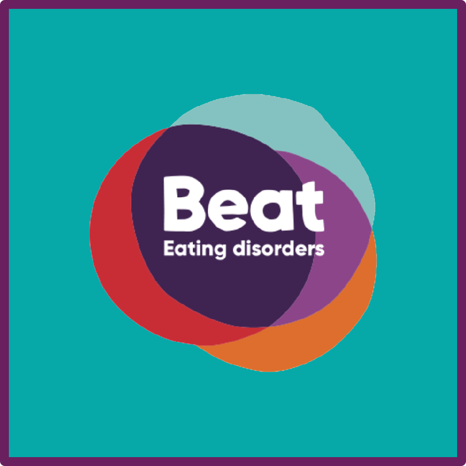Support with eating disorders. Phone line is also available 0808 801 0711.